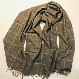 Madewell Shawl/Scarf/Cape with arm slits